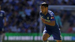 Chelsea's Colombian striker Radamel Falcao runs with the ball during the FA Community Shield football match between Arsenal and Chelsea at Wembley Stadium in north London on August 2, 2015. AFP PHOTO / IAN KINGTON   -- NOT FOR MARKETING OR ADVERTISING USE / RESTRICTED TO EDITORIAL USE --        (Photo credit should read IAN KINGTON/AFP/Getty Images)